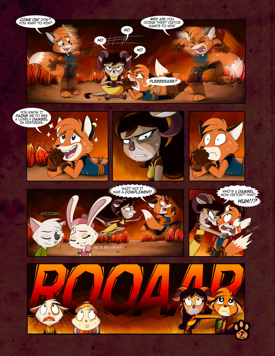 True Tail : One Halloween Night (Page 7 of 14)