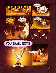 True Tail : One Halloween Night (Page 9 of 14) by SkynamicStudios