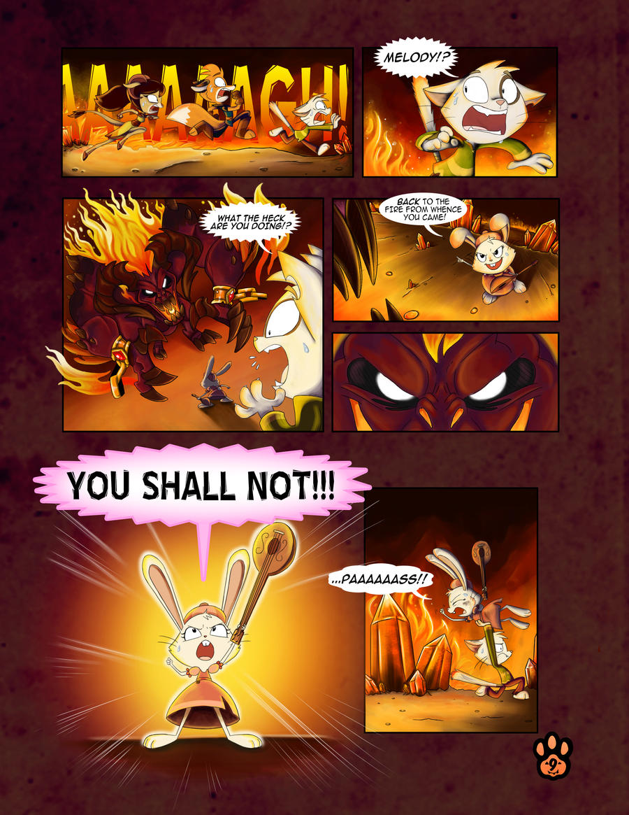 True Tail : One Halloween Night (Page 9 of 14)