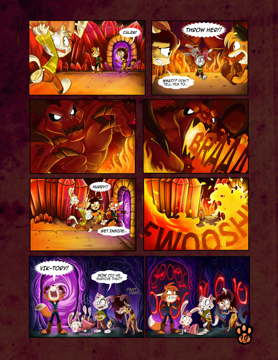 True Tail : One Halloween Night (Page 10 of 14)