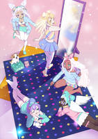 PastelGirl Slumber Party by Edalie-chan