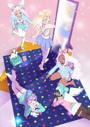 PastelGirl Slumber Party