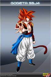 Dragon Ball GT - Gogeta SSJ4