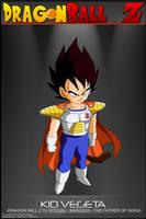 Dragon Ball Z - Kid Vegeta by DBCProject
