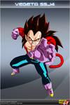 Dragon Ball GT - Vegeta SSJ4