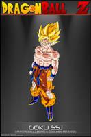 Dragon Ball Z - Goku SSJ M5 by DBCProject