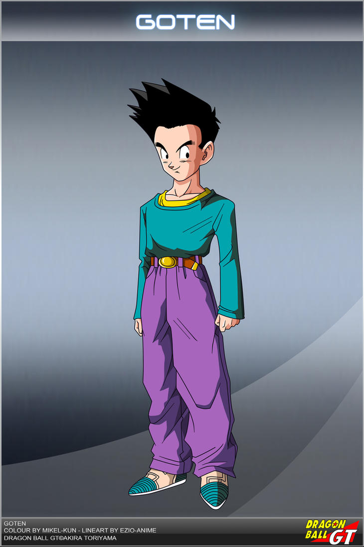 Dragon Ball GT - Goten by DBCProject - 104.7KB