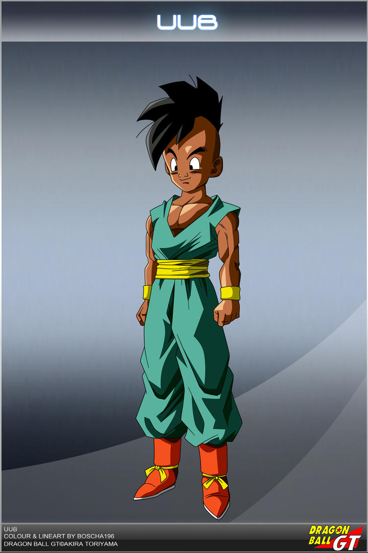Dragon Ball GT  Uub by DBCProject on DeviantArt