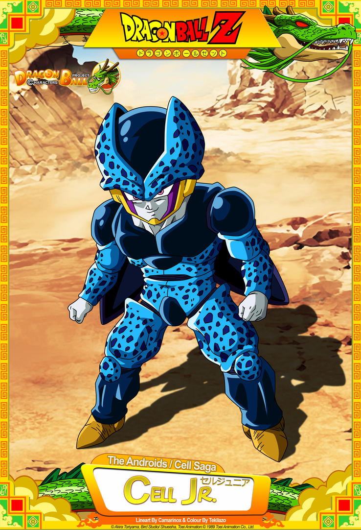 Dragon Ball Z - Cell Jr. by DBCProject on DeviantArt