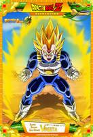 Dragon Ball Z- Super Saiyan 2nd Grade Vegeta by DBCProject