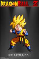 Dragon Ball Z -Kid Goten SSJ by DBCProject