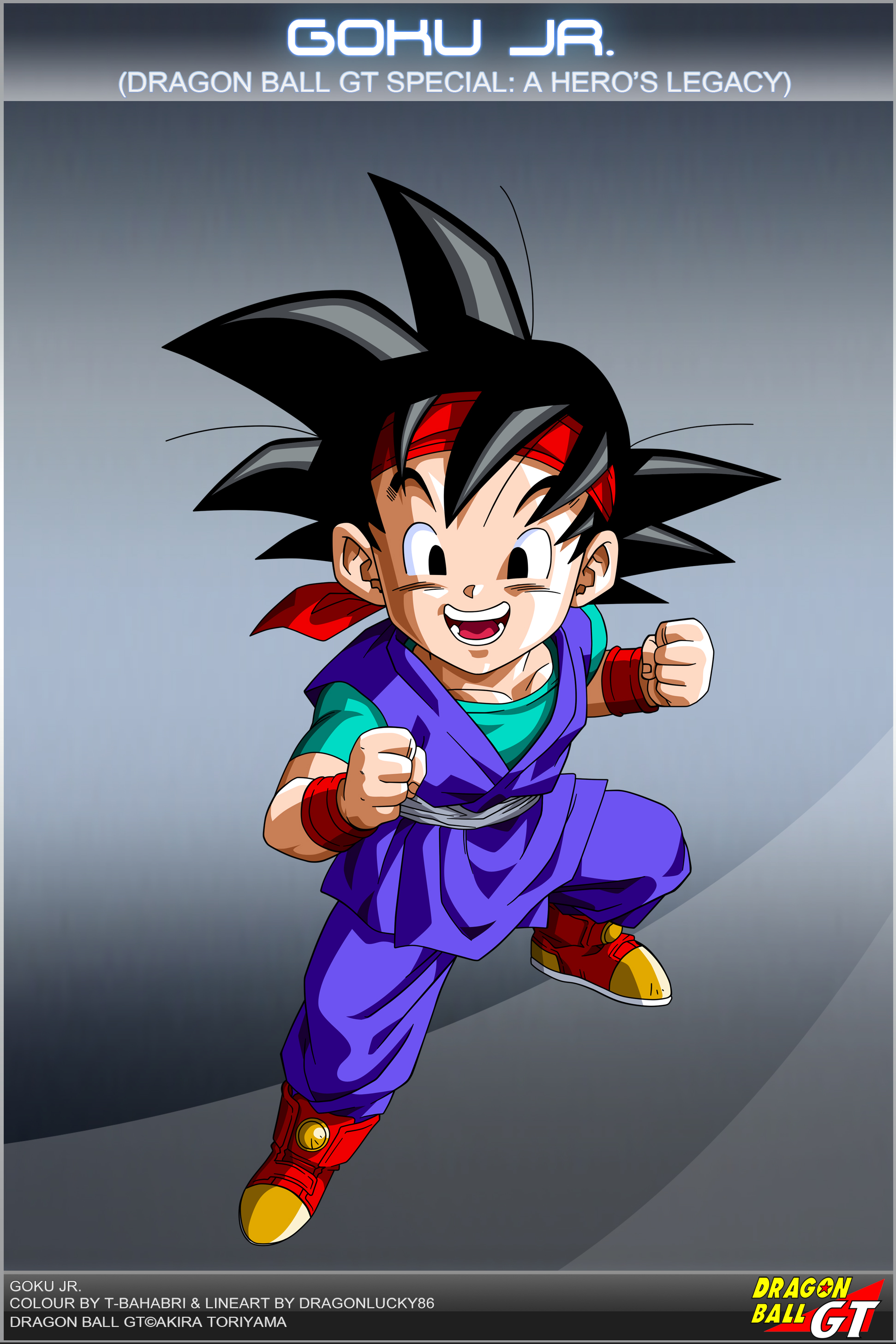Dragon ball gt goku jr by dbcproject on deviantart - Dragon ball gt goku wallpaper ...