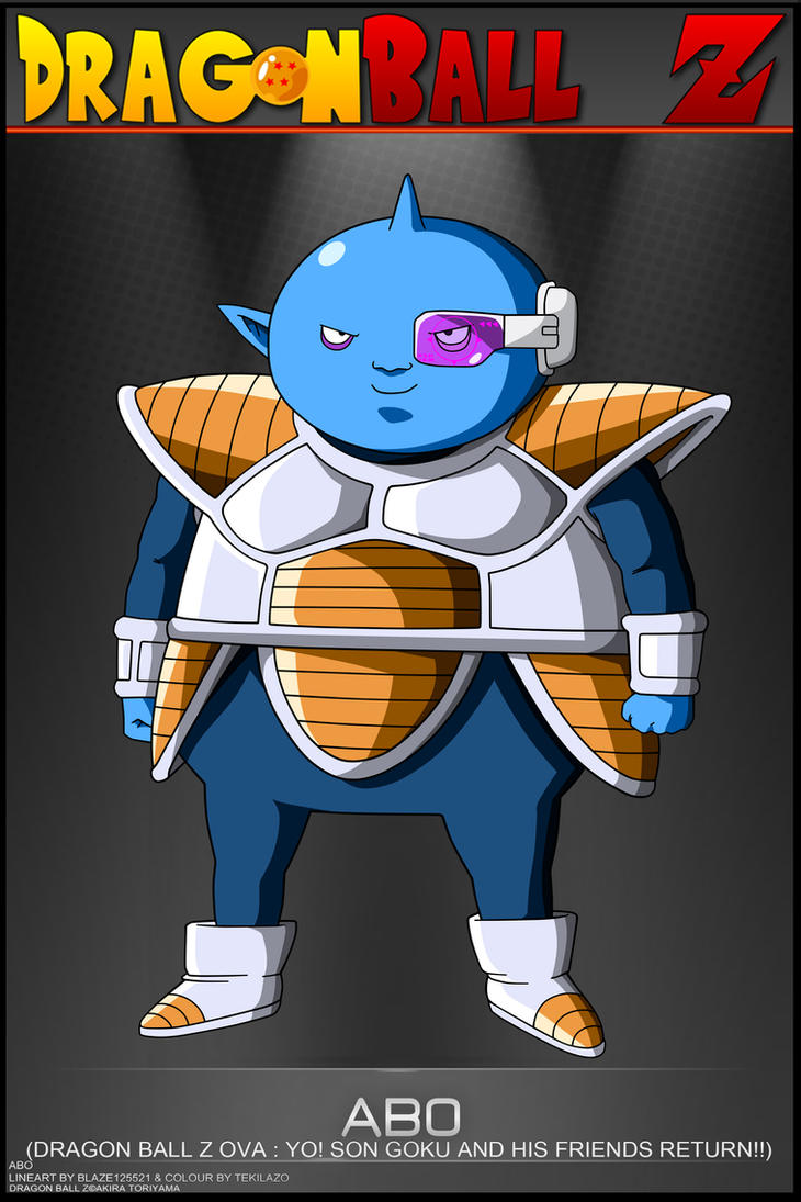 Dragon Ball Z - Abo by DBCProject