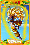 Dragon Ball Z - Super Saiyan 3 Son Gokuh