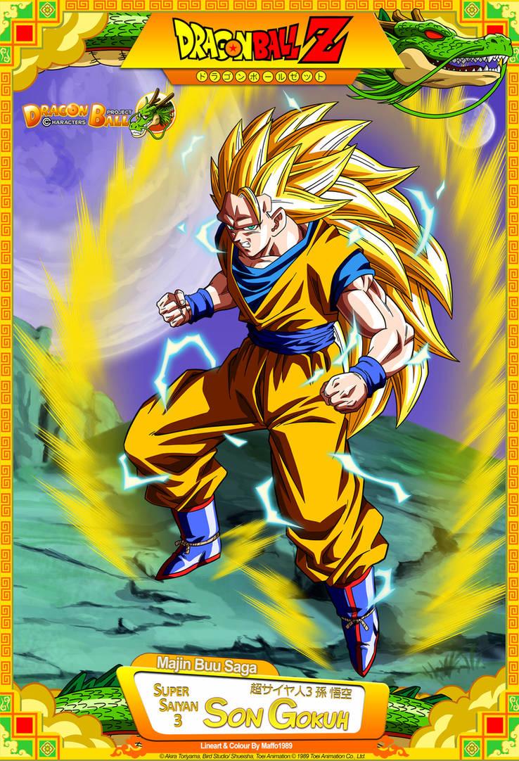 Dragon Ball Z Goku Ssj 3 By Dbcproject Deviantart Com