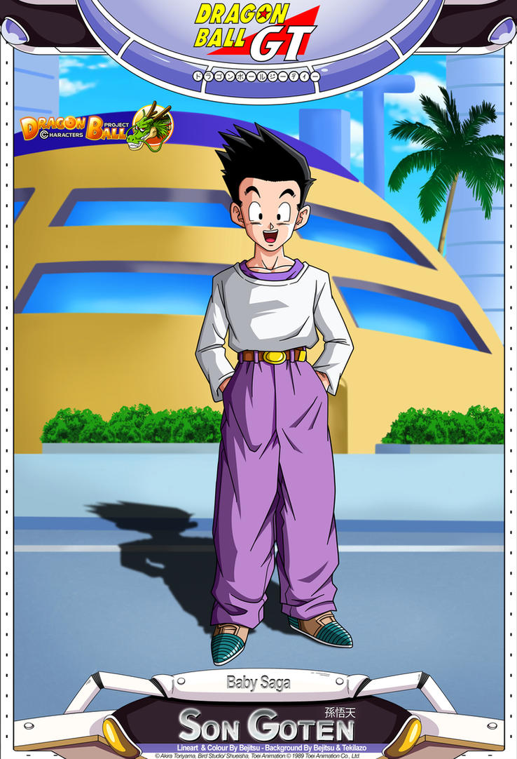 Dragon Ball GT - Son Goten by DBCProject - 208.1KB