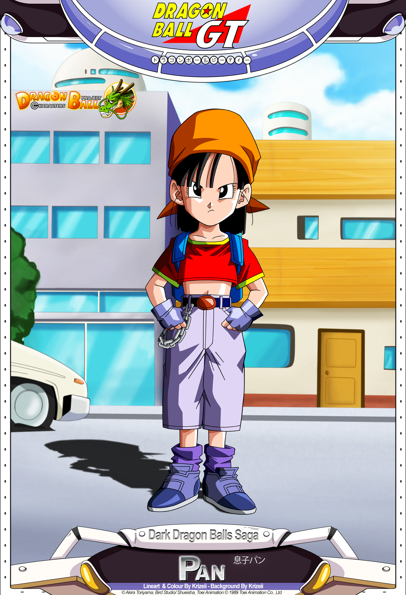 Dragon Ball GT - Pan by DBCProject