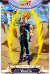 Dragon Ball GT - Super Saiyajin Vegeta