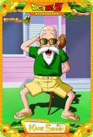 Dragon Ball Z - Kame Sennin (Muten Roshi) by DBCProject