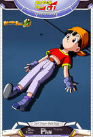 Dragon Ball GT - Pan (Doll Form) by DBCProject