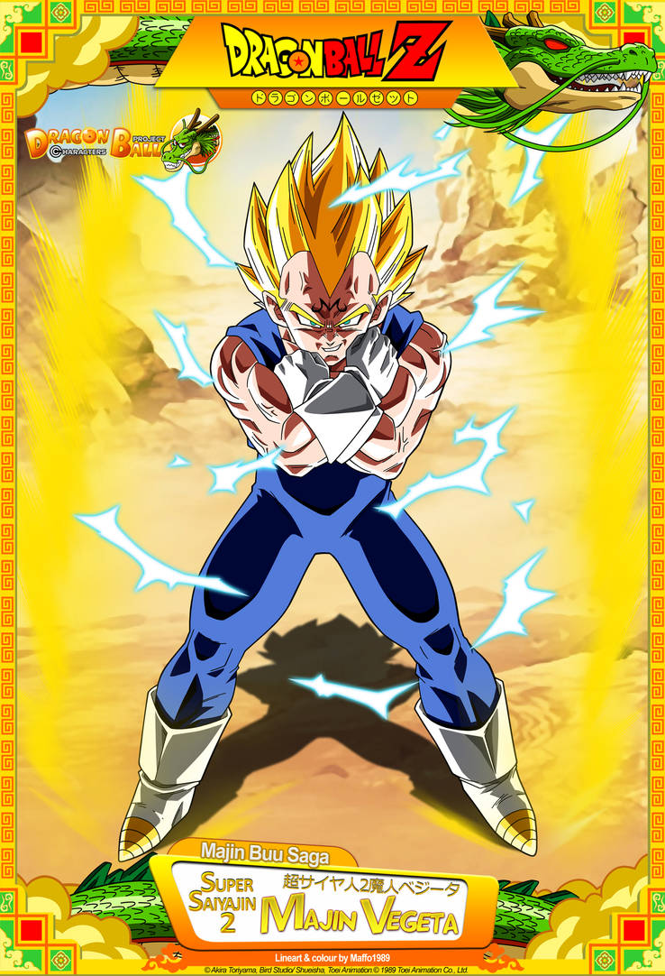 Dragon ball z ssj2 majin vegeta by dbcproject on deviantart - Dragon ball z majin vegeta wallpaper ...