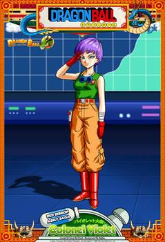 Dragon Ball - Colonel Violet