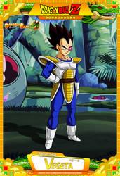 Dragon Ball Z - Vegeta by DBCProject