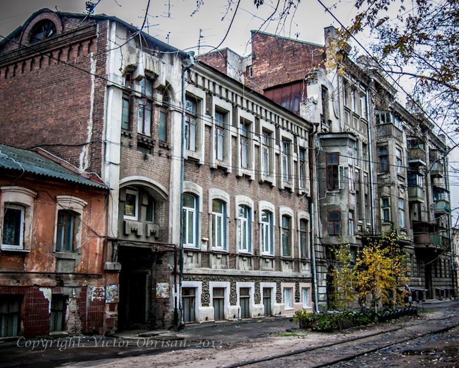 Old buildings by saltov-man