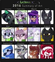 2016 Art Summary by Luckoon