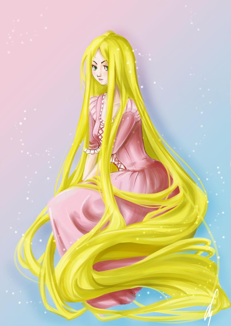 Rapunzel - Collab with Rena~ by susan-chan