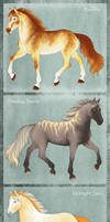 Midsummer Horse Designs by Agaave