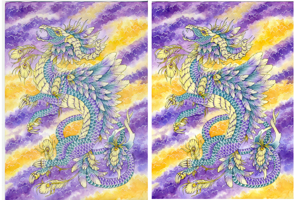 Before and after adjustments by Agaave