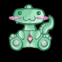 Dino Plush by vanillascream