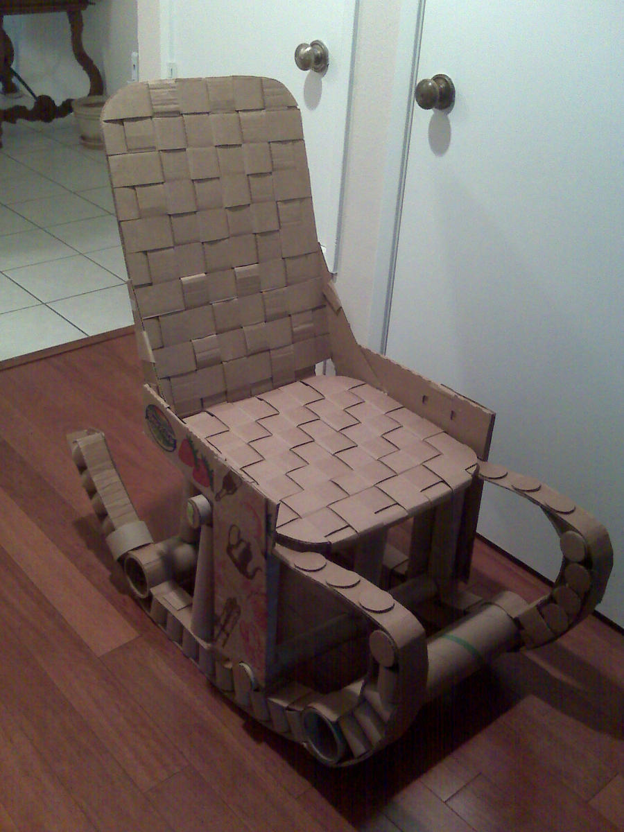 Cardboard rocking chair - Cardboard Rocking Chair By Kurustein Cardboard Rocking Chair By Kurustein