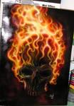 flaming skull 2