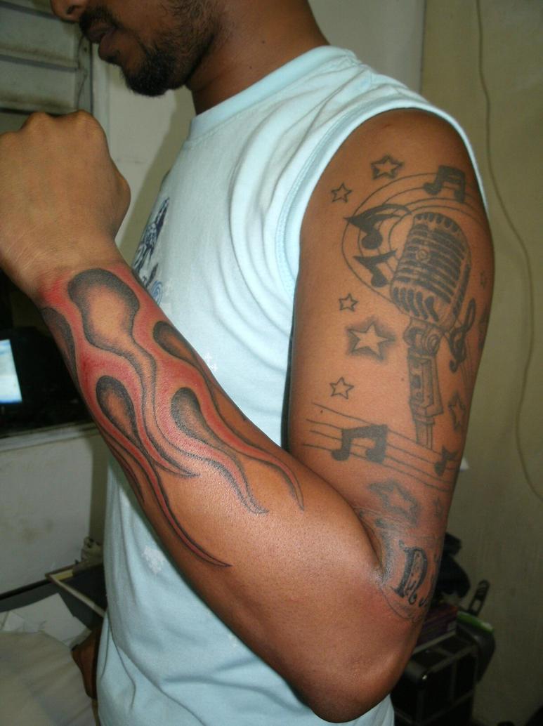 mic sleeve 2 - sleeve tattoo