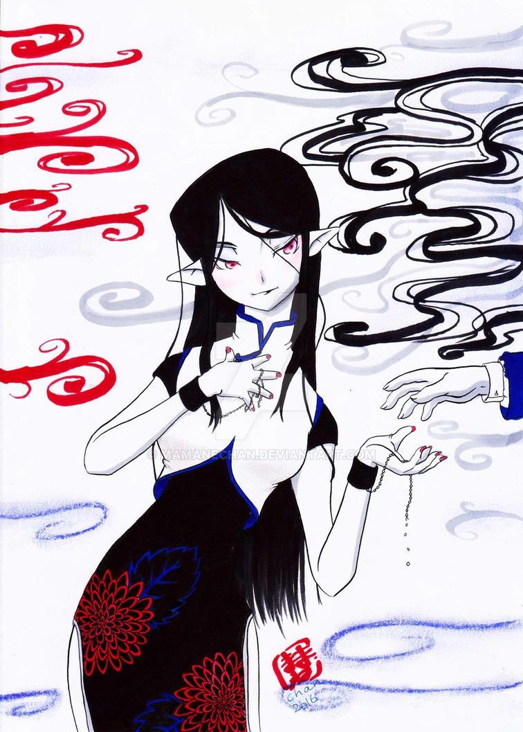Ayashii kanojo by mamanechan
