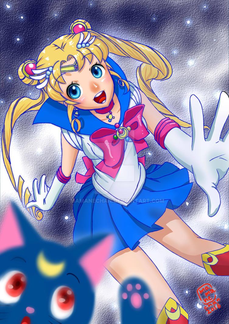 Sailor Moon  by mamanechan