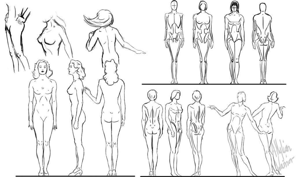 Draw Female Favourites By Arturdemex On Deviantart