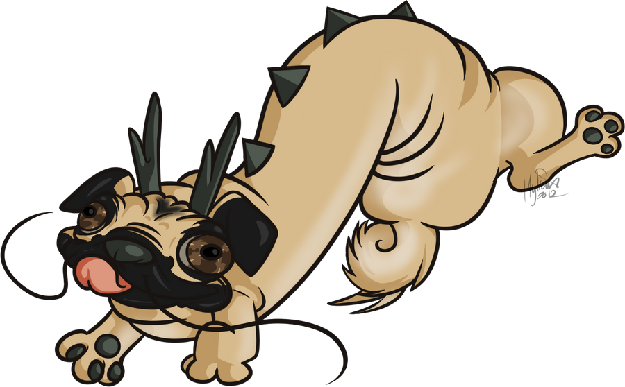Pug Dragon
