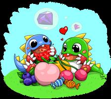 Bub and Bob by Hylian-Rinku