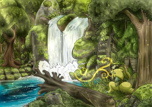 IM Wind - Peaceful Waterfall