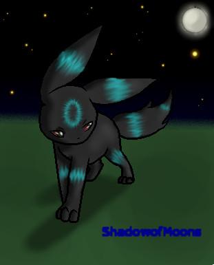 Shiny Umbreon by ShadowofMoons