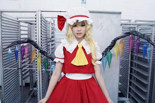 flandre in doll form.