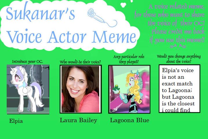 Elpia Voice Actor by dead2
