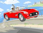 Ferris Bueller Joyride MS PAINT