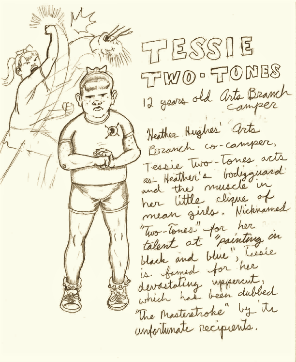 OC - Tessie Two-Tones by CaptainRedblood