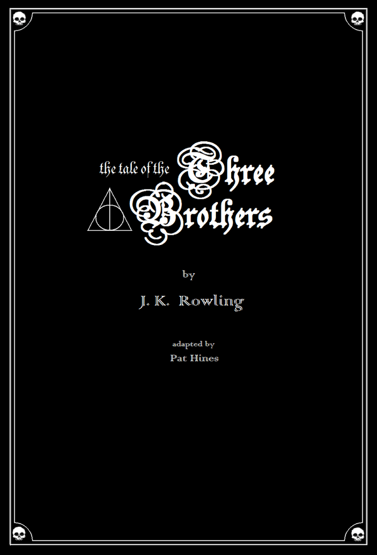 The Tale of the Three Brothers in MS PAINT by CaptainRedblood