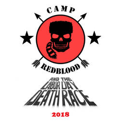 Camp Redblood Book Two Logo MS PAINT by CaptainRedblood