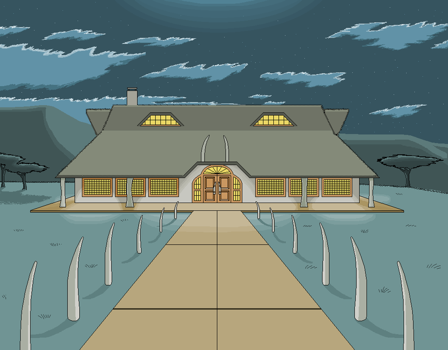 Camp Ahab in MS Paint by CaptainRedblood